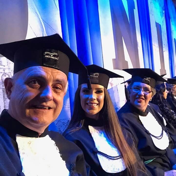 Werner foi um dos melhores alunos da turma de Biomedicina que se formou em fevereiro na Uniasselvi