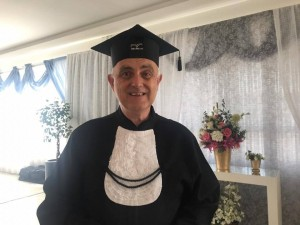 Werner Keske se formou em Biomedicina aos 62 anos