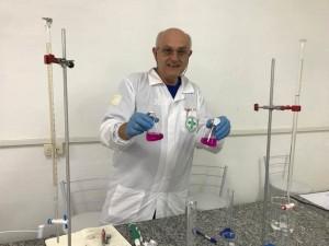 O curso de Biomedicina reavivou o interesse de Werner pela pesquisa