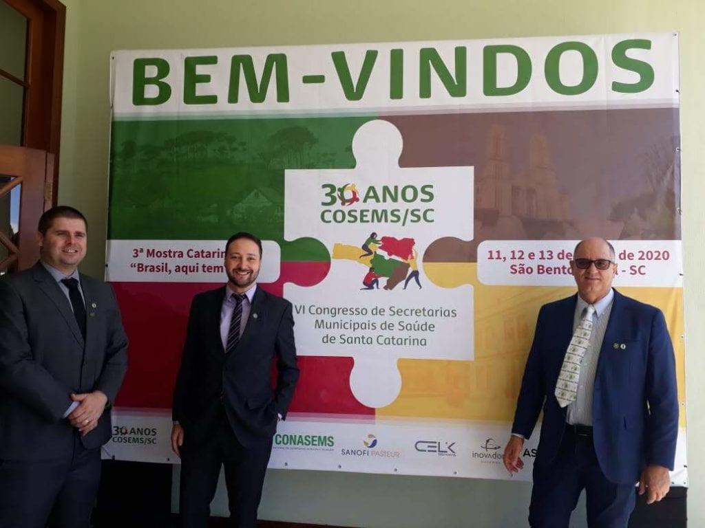 Mauricio Bassuino, Tiago Schiavo e Renato Minozzo