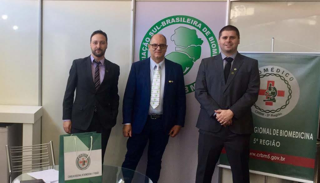 Tiago Schiavo, Renato Minozzo e Mauricio Bassuino